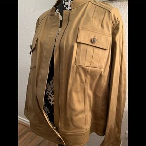 Plus-Size Anne Klein Bomber Jacket